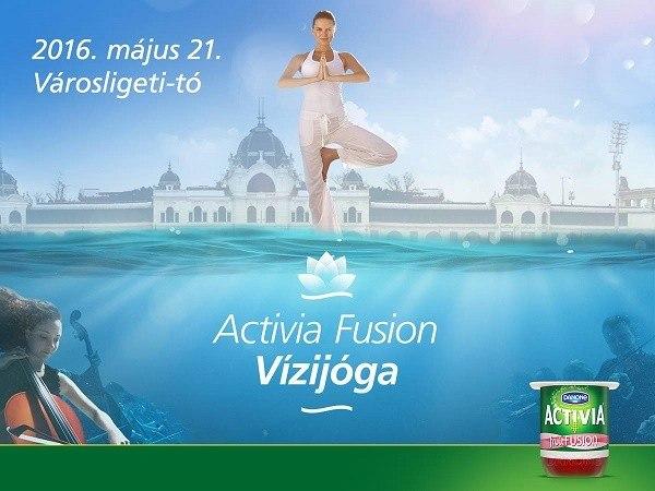 """Világpremier: """"Activia Fusion Vízijóga"""""""