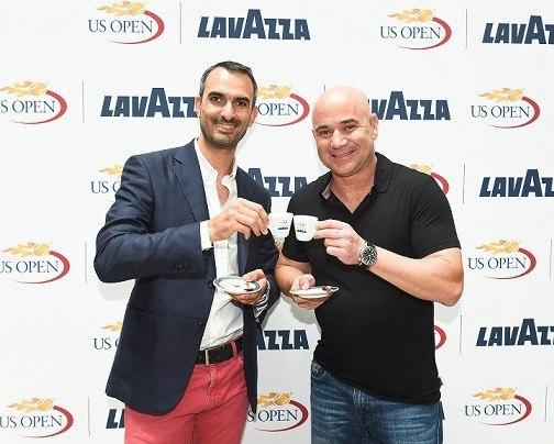 Marco Lavazza, Andre Agassi