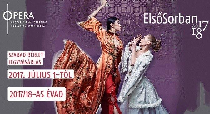 Július 1-jével indul az Opera jegyértékesítése a 2017/18-as évadra