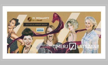 Womanity Fesztivál – A Magazin Életre Kel