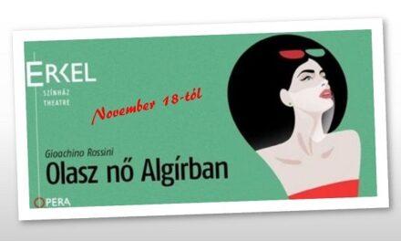 Olasz nő Algírban – először az Opera műsorán