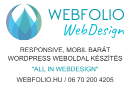 WebFolio Webdesign - responsive wordpress weboldal készítés