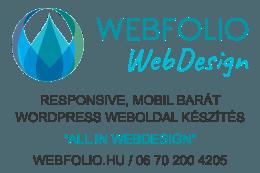 WebFolio Webdesign - responsive wordpress weboldal készítés