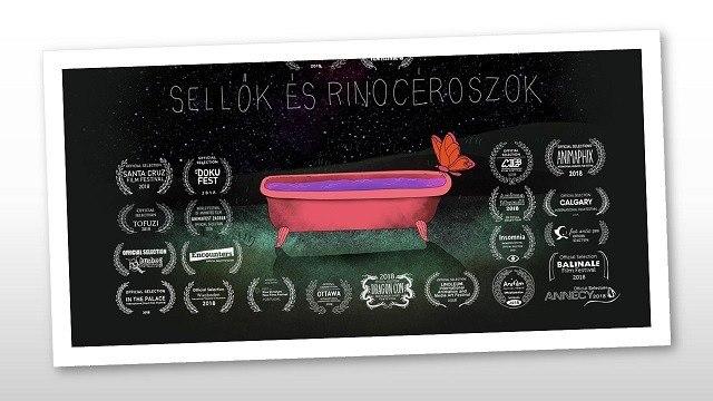 A SELLŐK ÉS RINOCÉROSZOK CÍMŰ MAGYAR ANIMÁCIÓS FILM ÚJABB SIKEREI