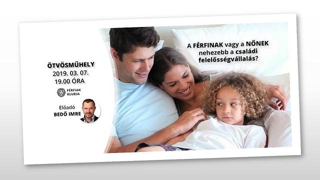 A férfinak vagy a nőnek nehezebb a családi felelősségvállalás?
