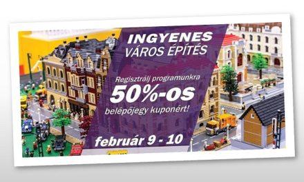 Kitelepül a Campona KockaPark – Építs LEGO® várost!