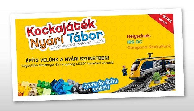 ISMÉT – LEGO® nyári tábor!