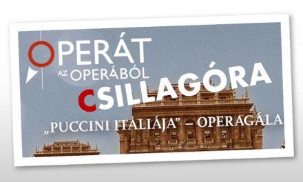 """Díjátadóval zárult az Opera """"Puccini Itáliája"""""""