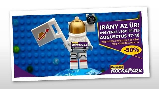 LEGO! Vonatozás és irány a LEGO® űr!