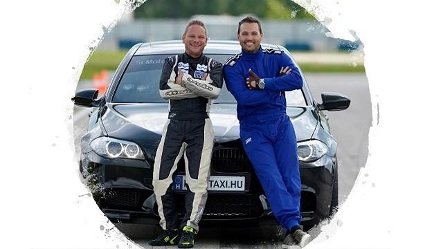 Müller Attila RaceTaxi