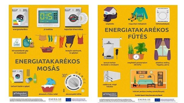 Fűtés és mosás energia