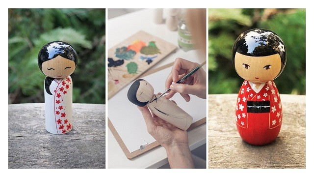 Kokeshi workshop