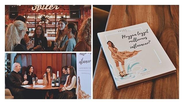 A könyvbemutató - amely a Festy In Style blog 10. jubileumi szülinapi eseménye is volt egyben