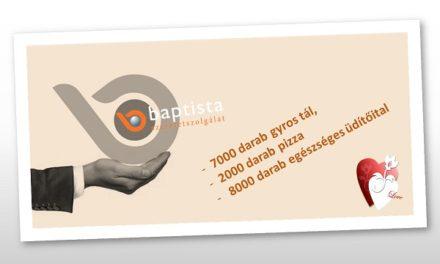 Tizenöt millió forintnyi adományt osztottak szét