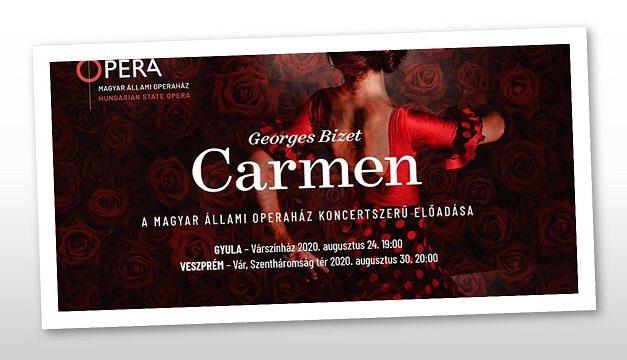 A Carmennel búcsúztatja a nyarat az Opera