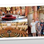 Parlamenti látogatás és  köszönet…