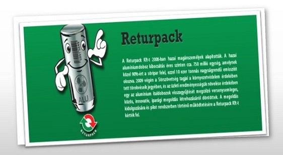Visszapalack?! :-) 10 éves a Returpack