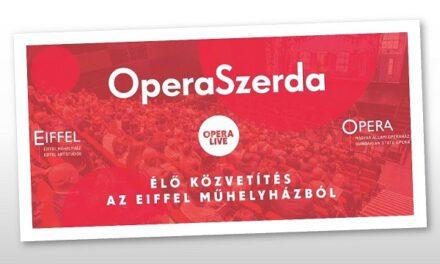 Krúdy- és Örkény-mű az OperaSzerdában