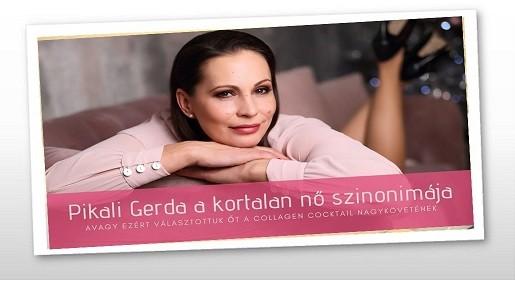 Pikali Gerda gondosan ügyel érzékeny arcbőrére