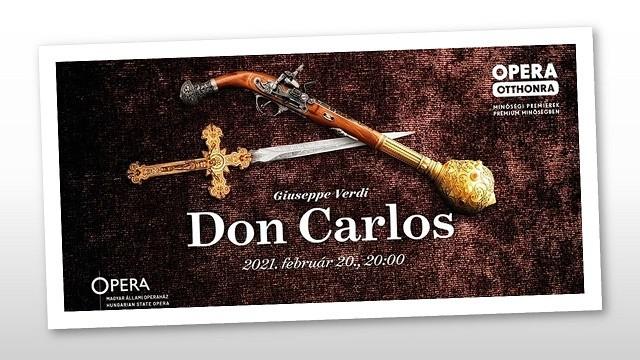 Online Don Carlos-premierre készül az Opera