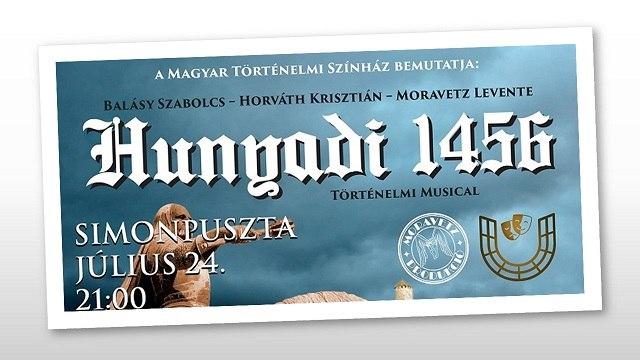 Július 24-én premier Simonpusztán: bemutatják a Hunyadi 1456 című történelmi lovas musicalt
