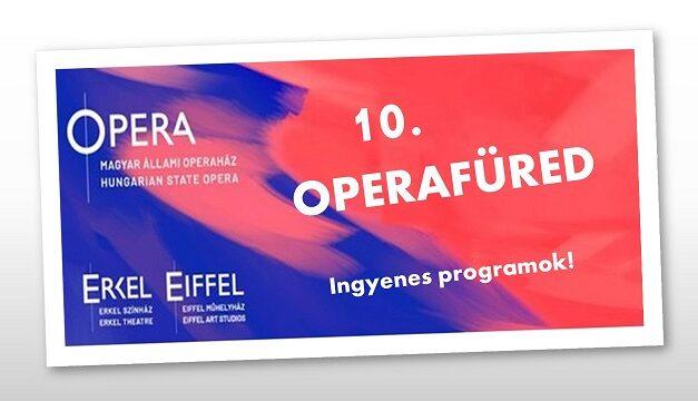 Tizedik alkalommal jelentkezik ingyenes programjaival az OperaFüred